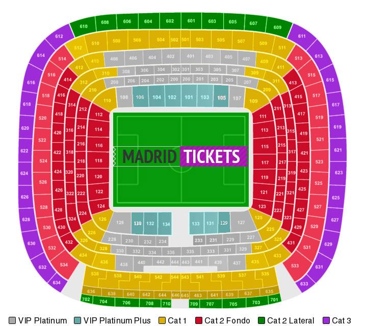 Estadio bernabeu madrid tickets for Puerta 8 bernabeu